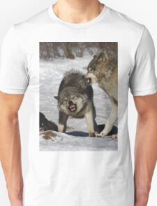Back off! - Timber Wolf T-Shirt