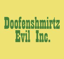 Doofenshmirtz Evil Inc. - GREEN One Piece - Short Sleeve