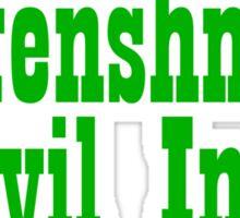 Doofenshmirtz Evil Inc. - GREEN Sticker