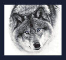 Wolf Eyes - Timber Wolf Kids Tee
