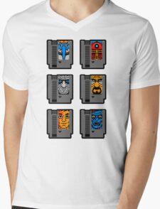 PLAY WITH EVIL Mens V-Neck T-Shirt