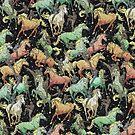 Ninjas+Unicorns by franx