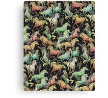 Ninjas+Unicorns Canvas Print