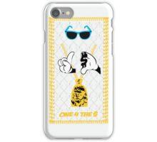 ONE 4 THE MONEY - 'GHOSTY G' WHITEY iPhone Case/Skin