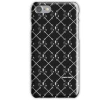 O4T$ street wear label – BLK/WHT 'INFINITY' iPhone case iPhone Case/Skin