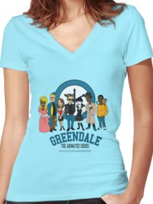 GTAS: Six Seasons and a Movie Edition Women's Fitted V-Neck T-Shirt
