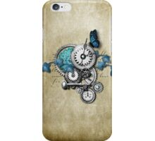steampunk machine iPhone4 with butterfly iPhone Case/Skin