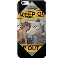 Keep Out! iPhone Case/Skin