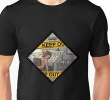 Keep Out! Unisex T-Shirt