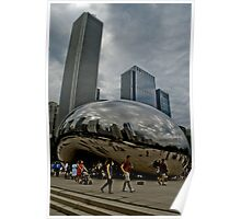 The Bean, Chicago, IL Poster