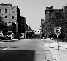 Downtown Rockford on a Sunday afternoon by jclegge