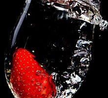 Strawberry Splash Cocktail by yawls1