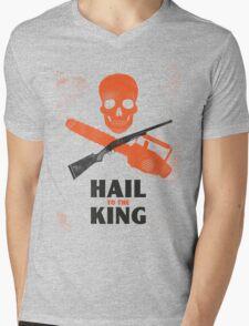 Hail to the King Mens V-Neck T-Shirt
