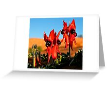 Sweet Peas of the Desert Greeting Card