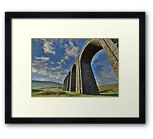 Yorkshire: The Ribblehead Arches Framed Print
