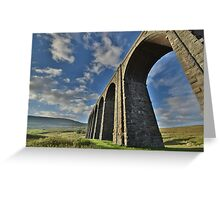 Yorkshire: The Ribblehead Arches Greeting Card