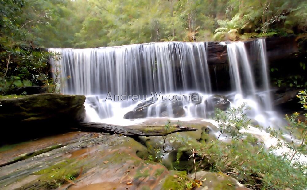 Somersby Falls by Andrew Woodman