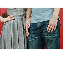 Lovers Photographic Print