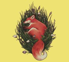 Fox in the Brush Kids Clothes