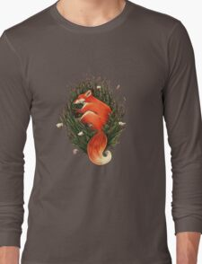 Fox in the Brush Long Sleeve T-Shirt