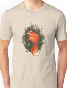 Fox in the Brush Unisex T-Shirt