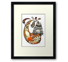 The Fox, the Crow, and the Cookie Framed Print
