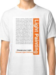 Light Painting Classic T-Shirt