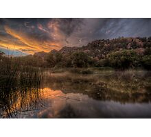 Sunset Smash Photographic Print