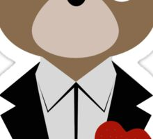 Kanye West DropOut Bear Sticker
