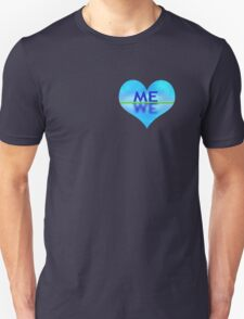 Heart-shaped reflection T-Shirt