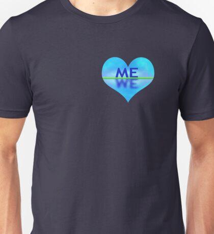 Heart-shaped reflection T-Shirt