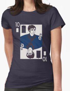 Ten of Tardis - Dark Blue Womens Fitted T-Shirt