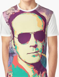 Hunter S. Thompson Graphic T-Shirt