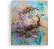 Elijah in the Desert under the Broom Tree Canvas Print
