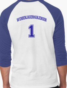 He Was #1 Men's Baseball ¾ T-Shirt