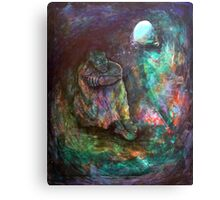 Elijah in the cave Canvas Print