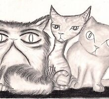 The Cats - Strange and Untrustworthy by InkyDreamz
