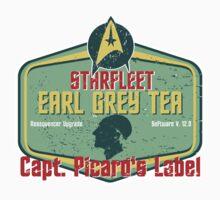 CAPT. PICARD'S EARL GREY TEA  One Piece - Short Sleeve