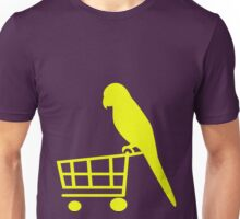 Parrot shopper Unisex T-Shirt