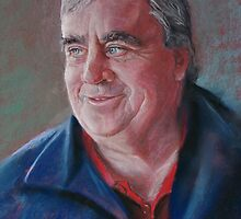 Portrait of Ken by Lynda Robinson