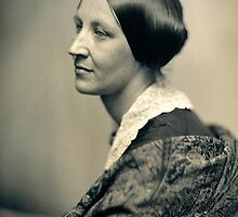 Portrait of Susan B. Anthony by allhistory
