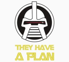 They have a plan One Piece - Short Sleeve