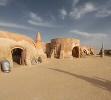 Space port in the desert by mrivserg