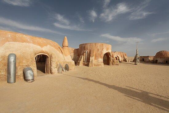 Space port in the desert by mrivserg