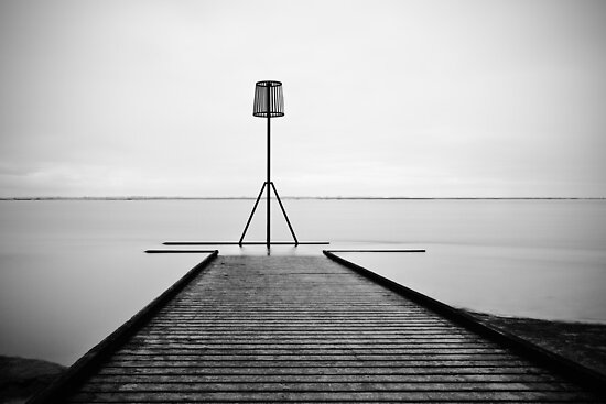 Lytham Jetty by inkedsandra