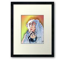 Cyborg Woman Framed Print