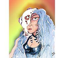 Cyborg Woman Photographic Print
