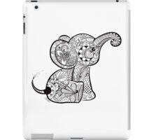 Baby Elephant Doodle iPad Case/Skin