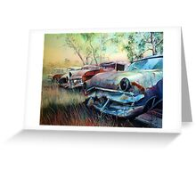 Junkyard Greeting Card