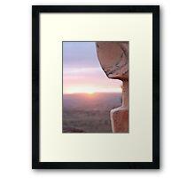 The Sculptures - Broken Hill Framed Print